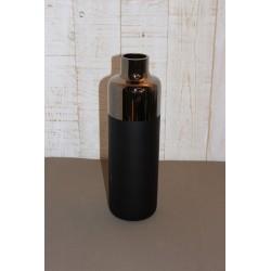 Vase schwarz matt/glänzend,...